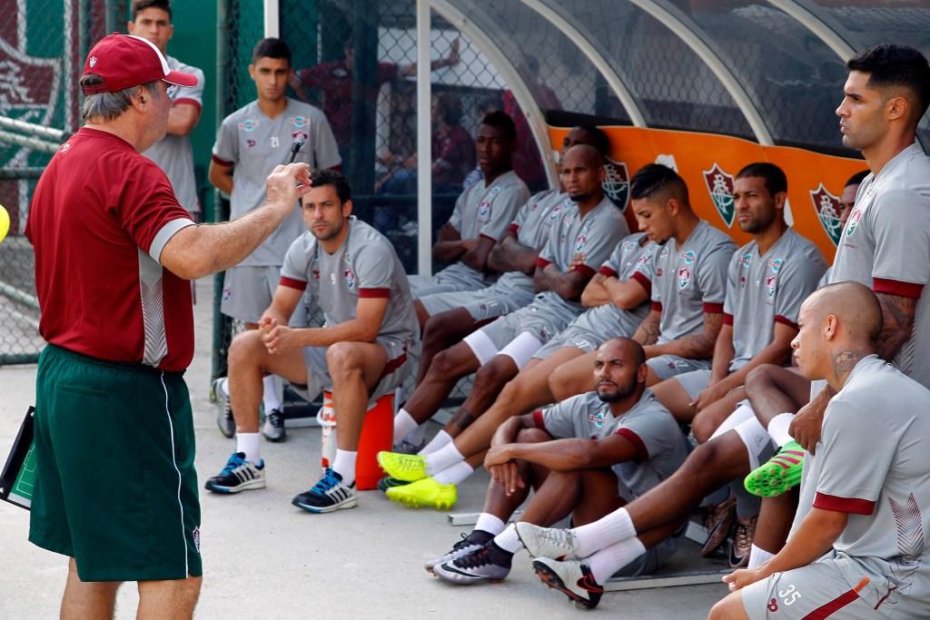 Levir Culpi faz a sua estreia pelo Fluminense em Juiz de Fora (Foto Nelson Perez/Fluminense)