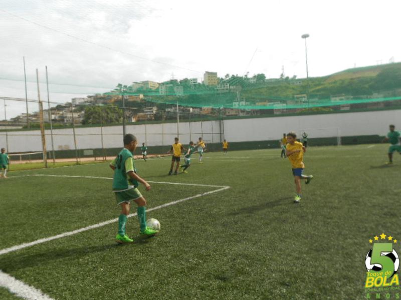 Equipes treinam no Sport Club