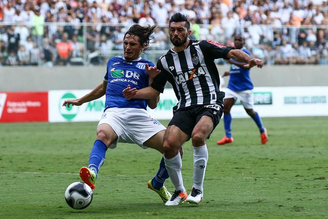 Vitória por 2 a 0 garantiu o Atlético na final do estadual (Foto: Bruno Cantini/Atlético MG)