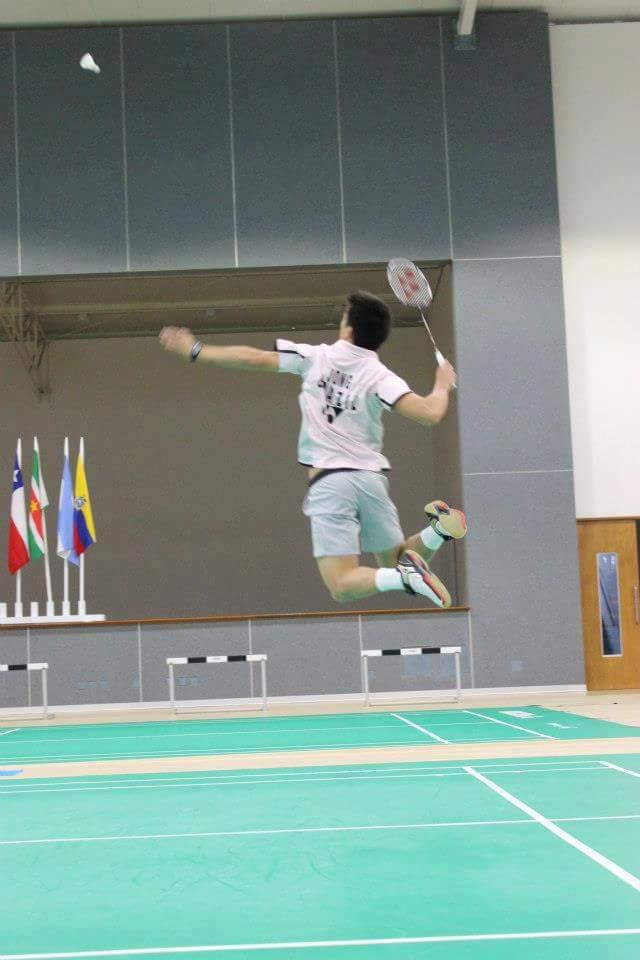 Alex Tjong representa o Brasil em competições internacionais