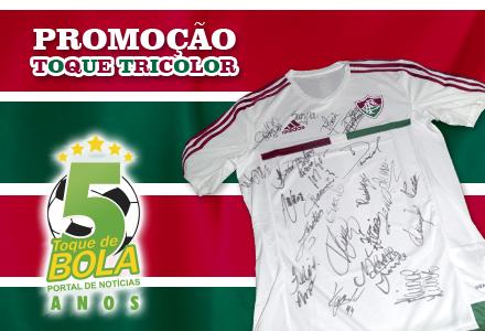 Toque de Bola lança nova promoção  camisa oficial e autografada do ... bc74c5cac3e77