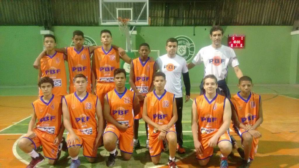 PBF/Olímpico/Geração campeã sub-15 (Foto: Daniel Defilippo)