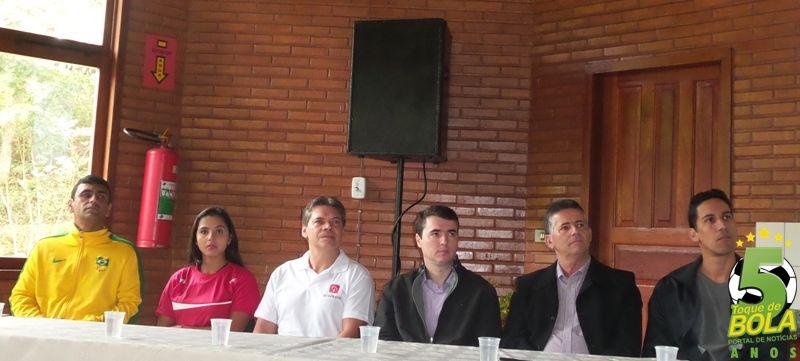Alexande Ank, Cássia Delgado, Jeferson Vianna, Bruno Siqueira, Sérgio Rodrigues e André Nascimento