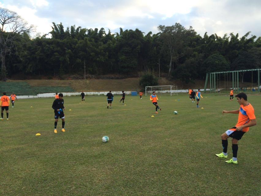 Equipe fez treino na tarde desta segunda-feira em Juiz de Fora (foto: página do Paysandu no facebook)