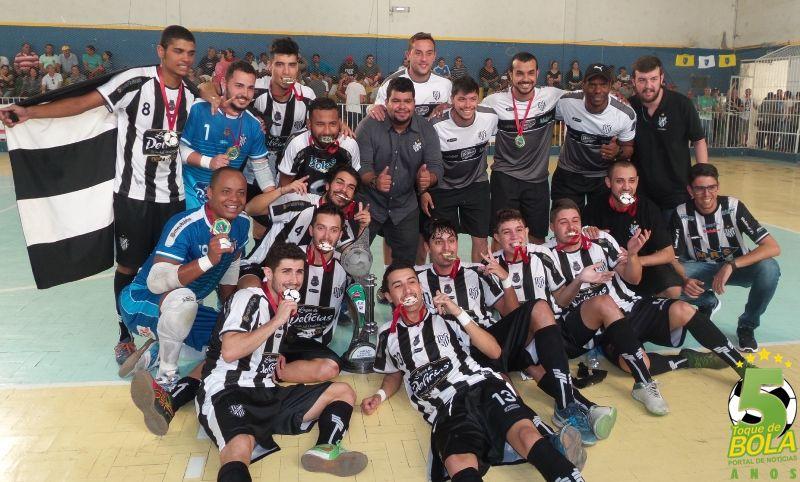Futsal: saiu a tabela do triangular do Interior. Tupi joga sexta à noite e domingo pela manhã no ginásio do Baeta
