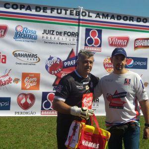 André Rossi, o goleiro-presidente que vem de Bicas para garantir o  título do Bavet