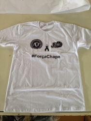JF Vôlei presta homenagem à Chapecoense e ao zagueiro Marcelo no jogo contra o Minas