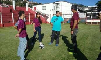 Coordenador do projeto de extensão de futebol da UFJF conta detalhes da parceria com o Baeta