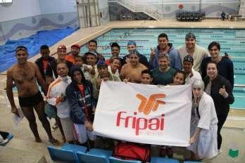 Fripai mobilizada na disputa da natação dos Jogos Sesi Juiz de Fora 2017