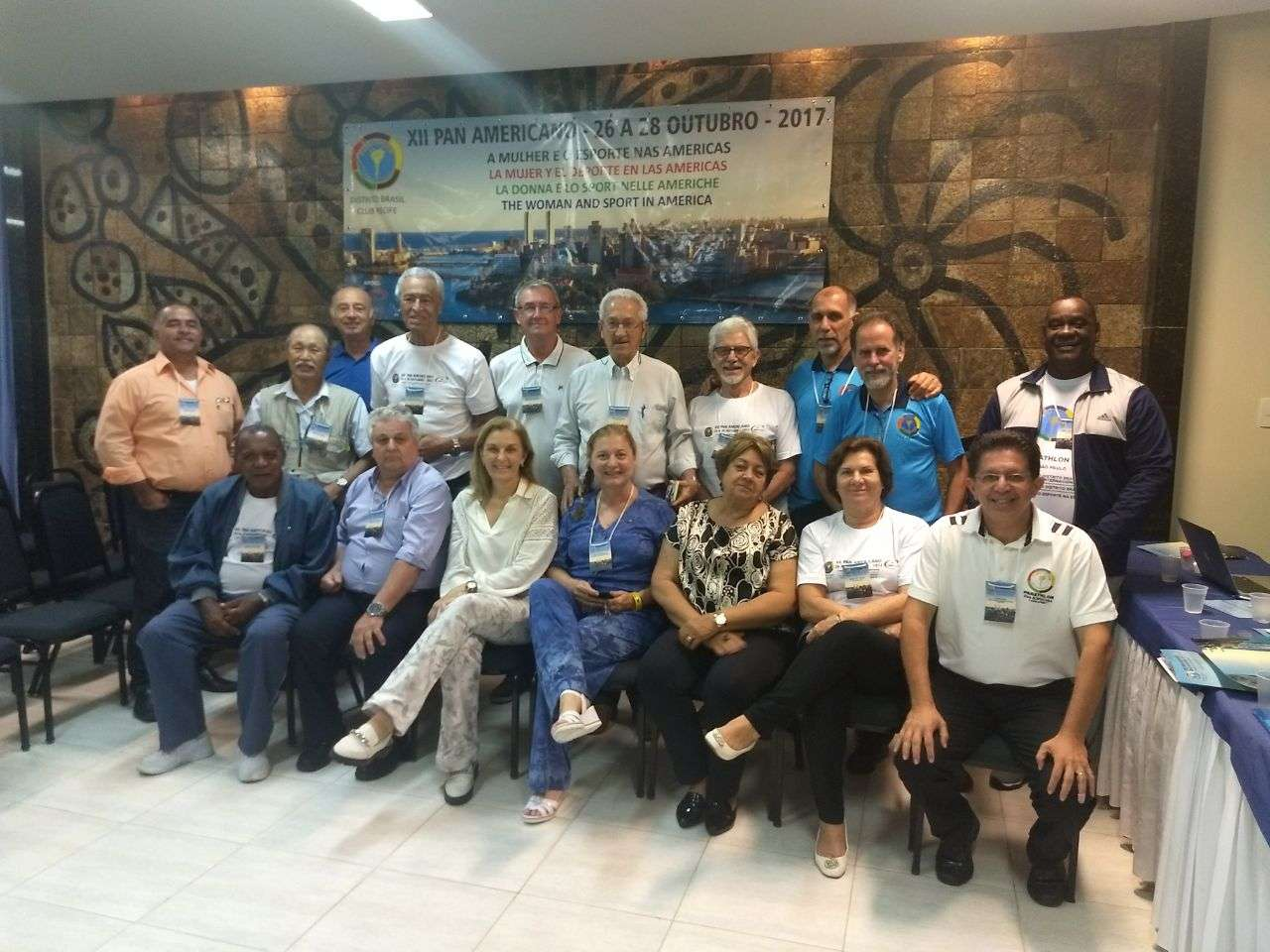 Panathlon Club Juiz de Fora participa com destaque do 12º Congresso Pan-Americano, em Recife