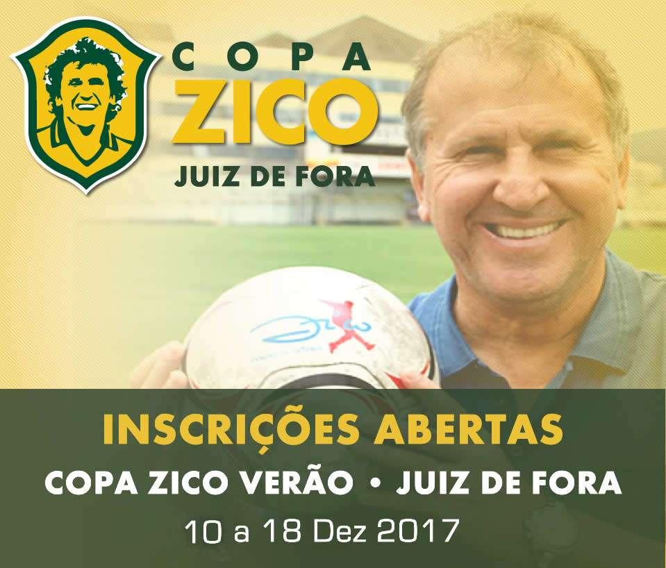 Copa Zico Verão é atração em Juiz de Fora: restam poucas vagas