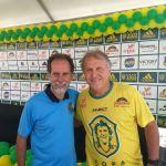 Basileu Tavares representa o Panathlon Club Juiz de Fora nas finais da Copa Zico Verão