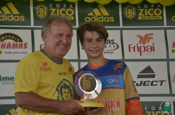 Sub 17 - Destaque: Gustavo Sartori – CF Zico