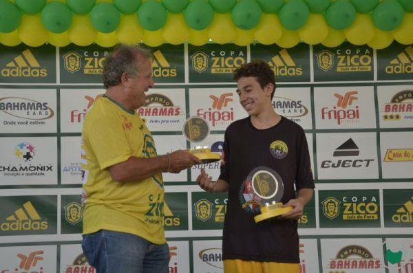 Destaque e artilheiro Sub 15: Luiz Felipe Almeida Reis – Dallas – 6 gols