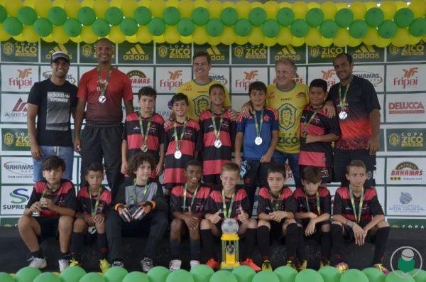 Escola Oficial do Flamengo - vice-campeão sub-11