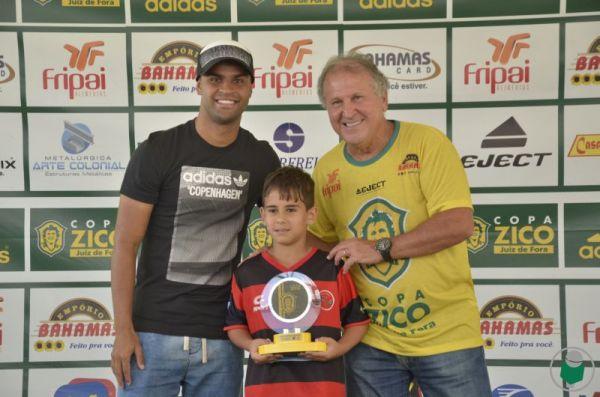 Artilheiro Sub-9: Iago Santos Lanzine – Escola Oficial do Flamengo – 8 gols