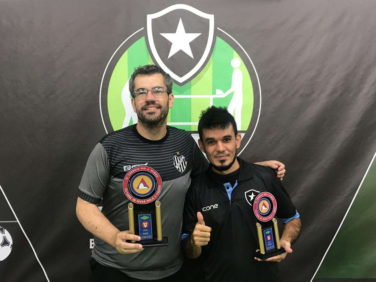 É Carijó! Marcus Motta, do Tupi, é campeão do Rio-Minas de futebol de mesa