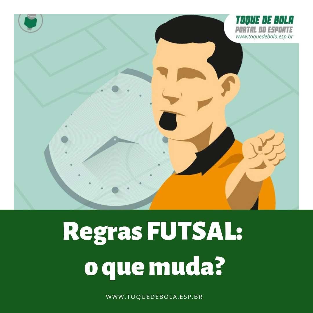 Futsal! Saiba as principais mudanças nas regras para a atual temporada