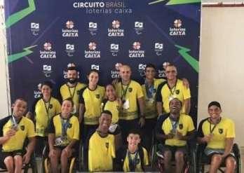 Bom Pastor: medalhas e índices no Circuito Caixa Paralímpico!