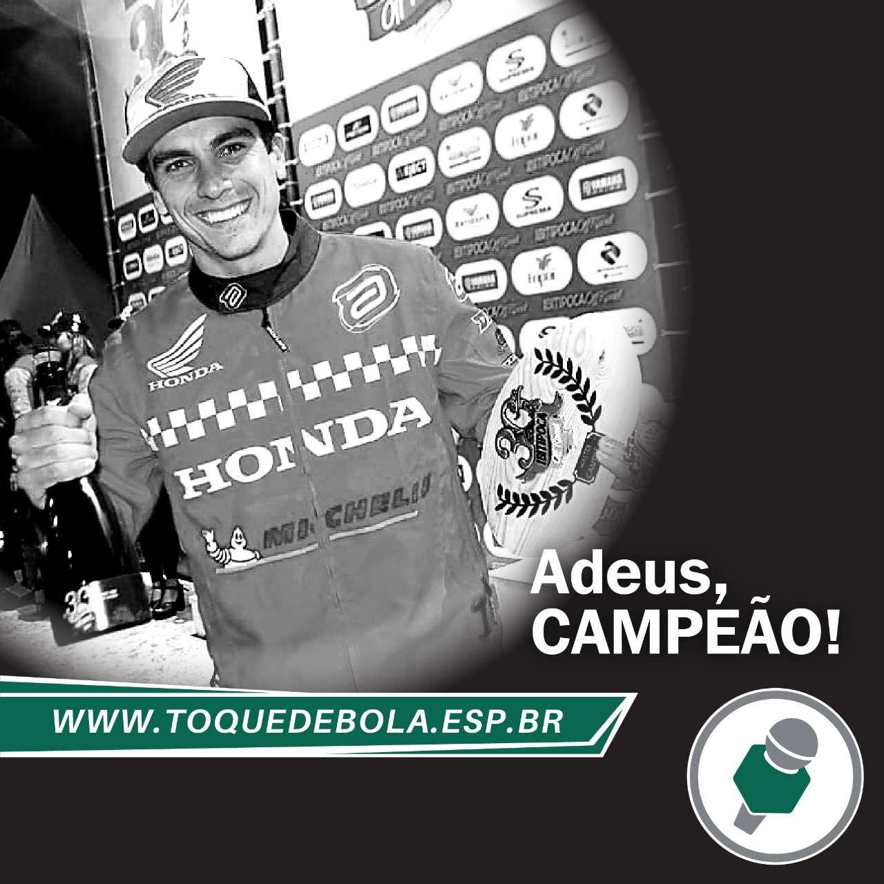 Motociclismo: um duro adeus a Tunico Maciel