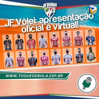 Com ponteiro argentino, JF Vôlei apresenta equipe de 2021!
