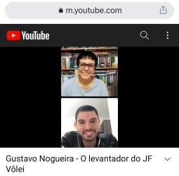 Gustavo Nogueira: Live Especial com levantador do JF Vôlei