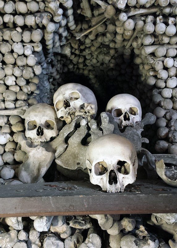 Sedluc Ossuary Church of Bones Prague Czech Republic
