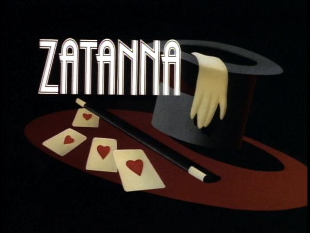 Batman Animated Series Rewatch Paging the Crime Doctor Zatanna