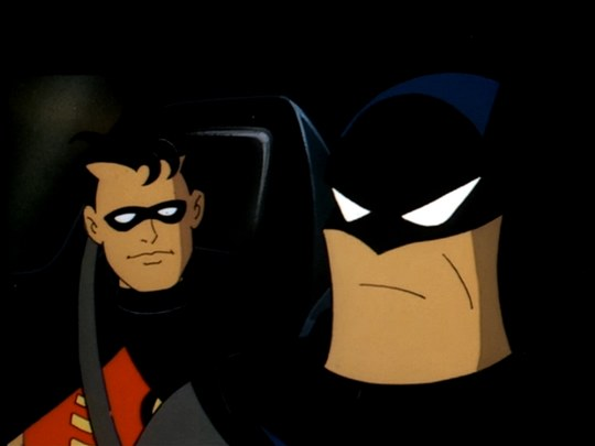 robin will be in less than a third of the episodes and most of those towards the end of the run but he serves an important role here - Batman The Animated Series Christmas With The Joker