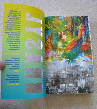 Brasyl UK edition inside front cover