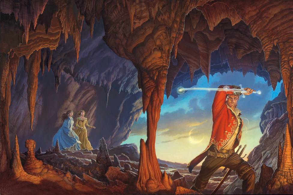 A Memory of Light cover by Michael Whelan