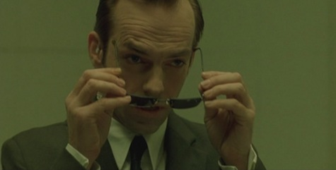 The Matrix Agent Smith