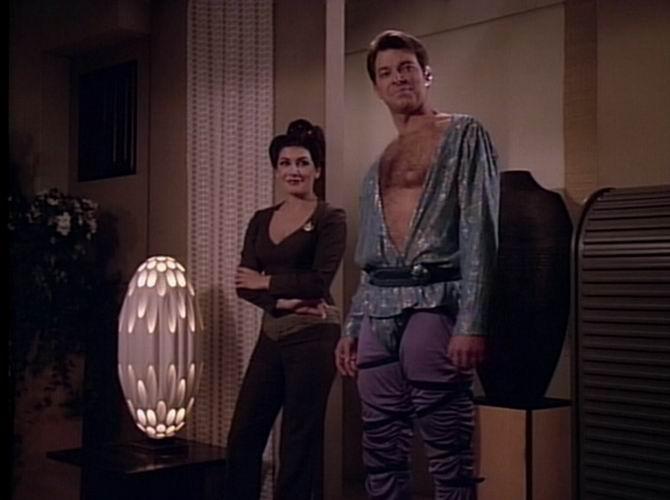 Riker goes native