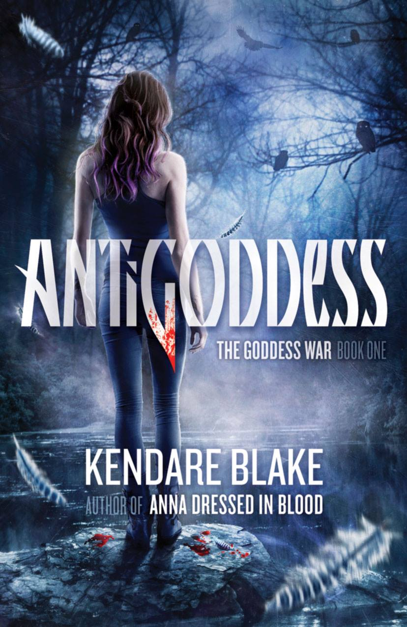 Antigoddess (Goddess War #1) by Kendare Blake