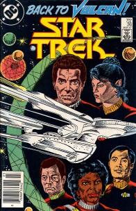 Non-Non Canon: The Strange Case of the 1980s DC Star Trek Comic Books