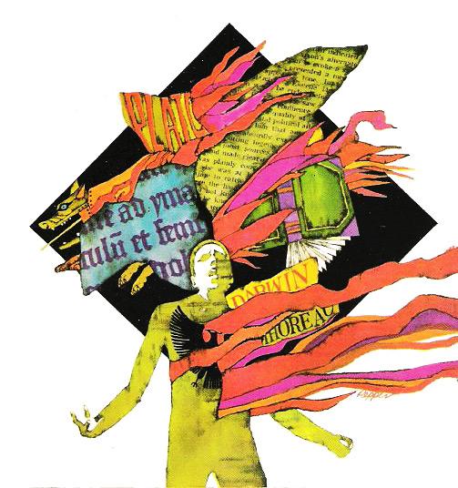 Bob Pepper's psychedelic version Fahrenheit 451.