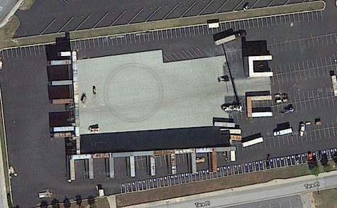Catching Fire satellite set photos Cornucopia Google Maps Quarter Quell tribute parade
