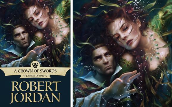 A Crown of Swords ebook cover by Mélanie Delon | Tor com