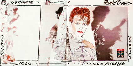 The cover of Scary Monsters