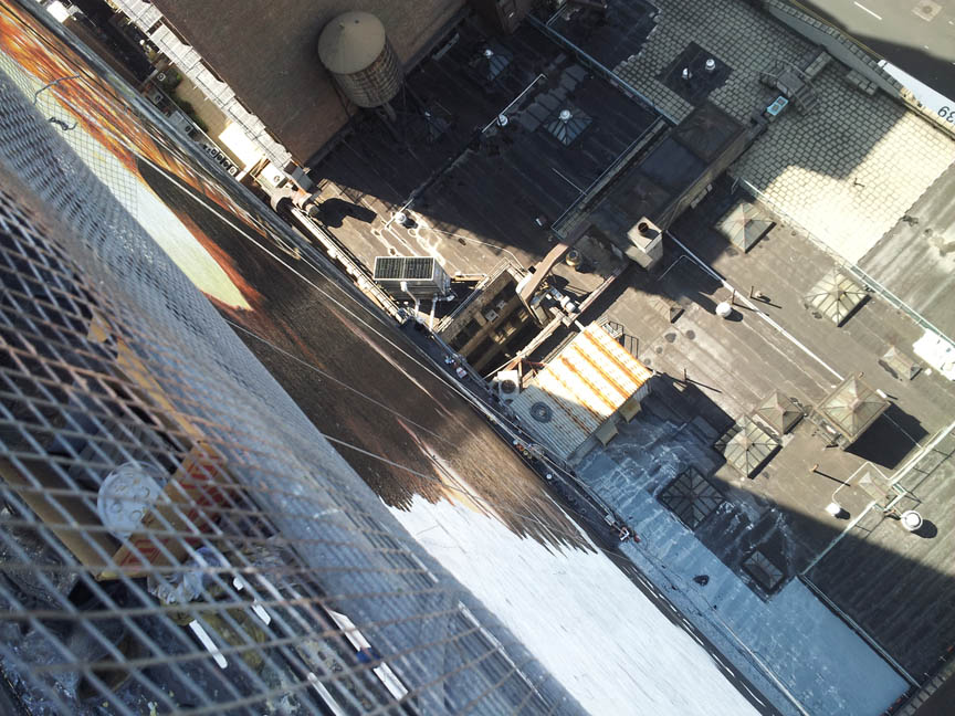 This is How You Paint a 150 Foot Tall Batman
