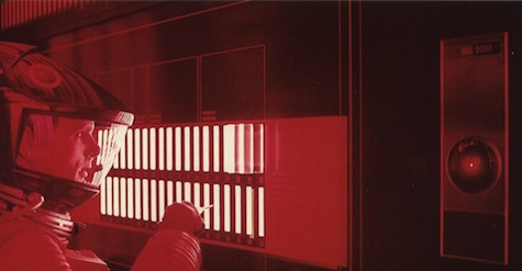 2001 A Space Odyssey Dave HAL 9000