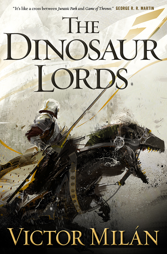 The Dinosaur Lords cover Victor Milan Richard Anderson