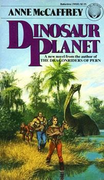 10 Essential Dinosaur Science Fiction Books Dinosaur Planet Anne McCaffrey