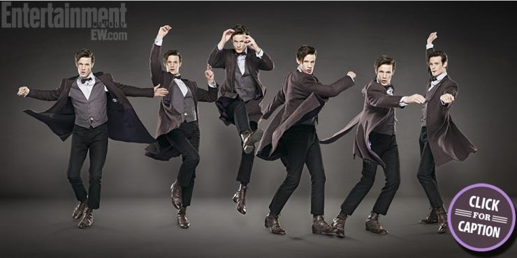 Matt Smith dances for EW!