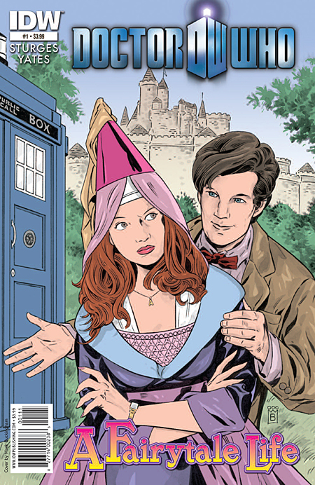 Doctor Who #1 from IDW