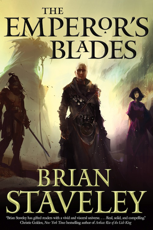The Emperor's Blades Brian Staveley