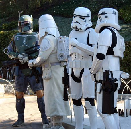 Boba Fett and Troopers