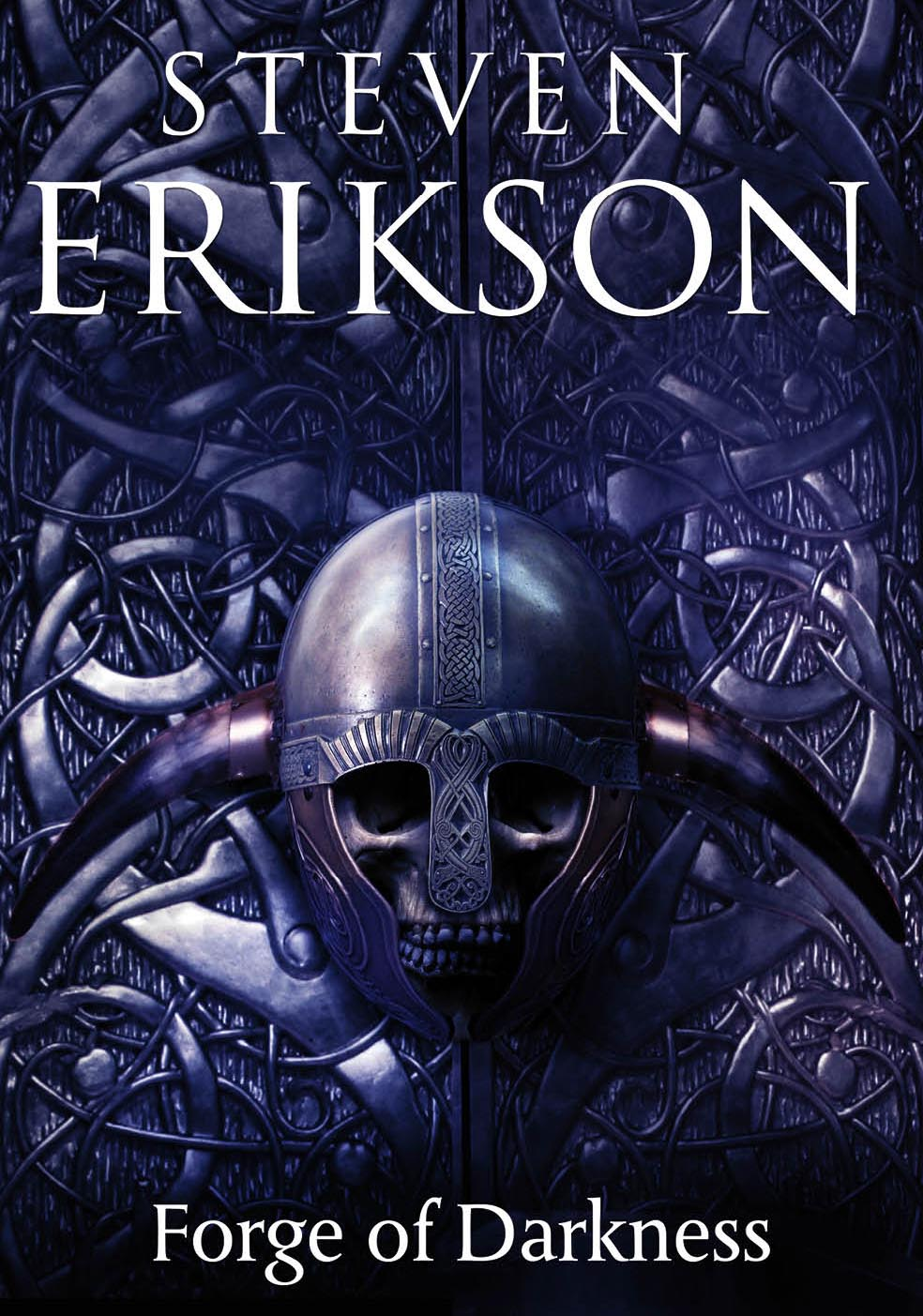 Cover for new Malazan book Forge of Darkness by Steven Erikson