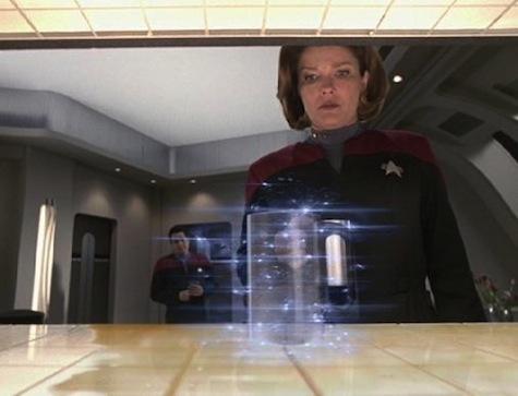 Janeway Star Trek Voyager Replicator