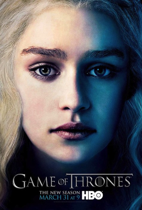 Game of Thrones season 3 character posters Daenerys